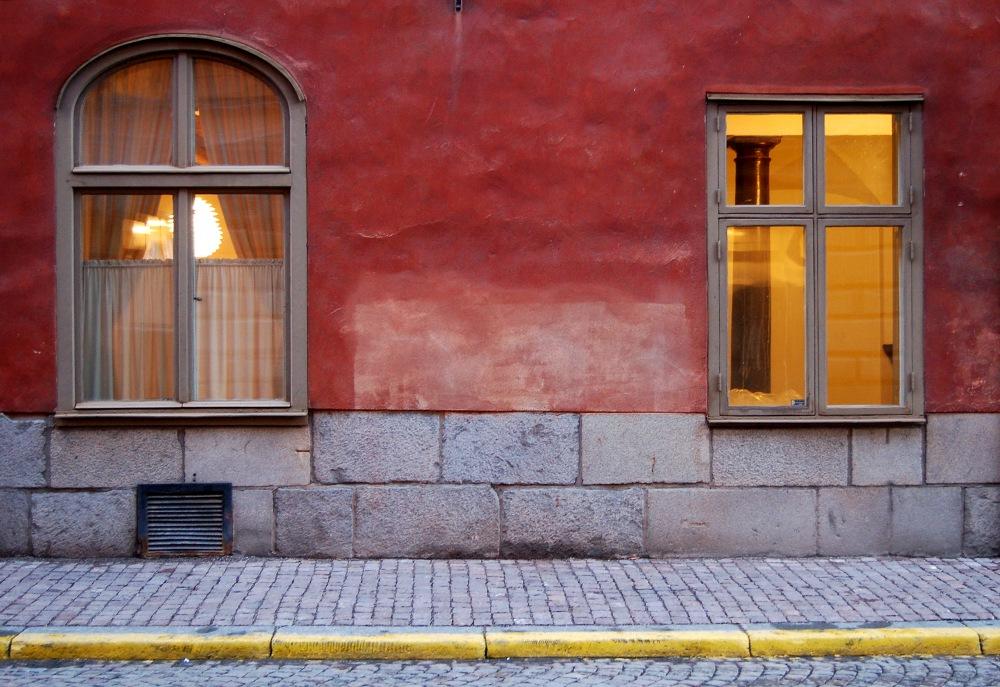 photoblog image Windows in Stockholm